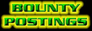 Bounty Postings
