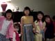 My nieces - with one artificially replicated (no, my sister does not have twin)