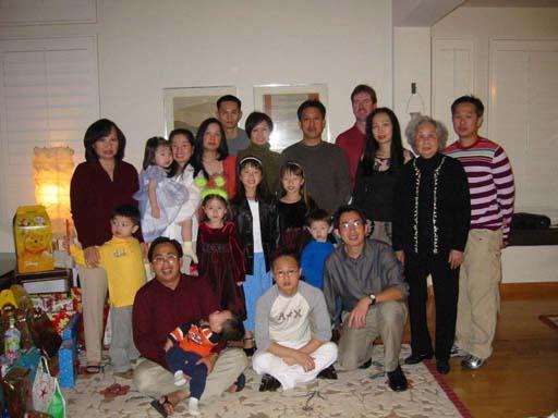 Thuy's family