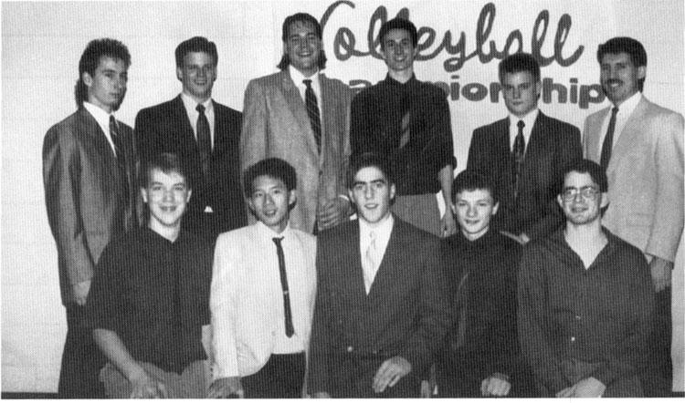 Melville Cobras 4A V'Ball Champs 1990