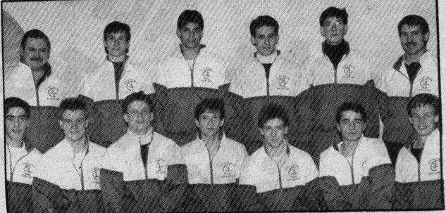 SK Winter Games 1990 Boys V'Ball Gold Medals Yorkton Macs