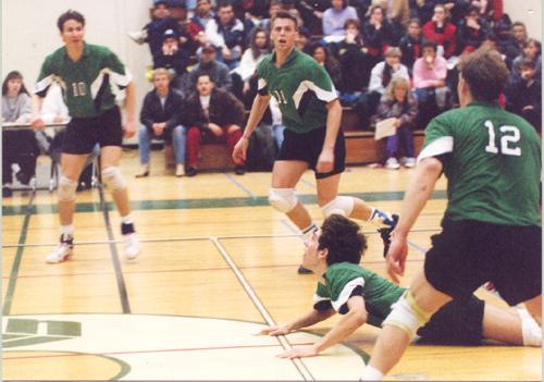 U of R Cougars V'Ball 1992