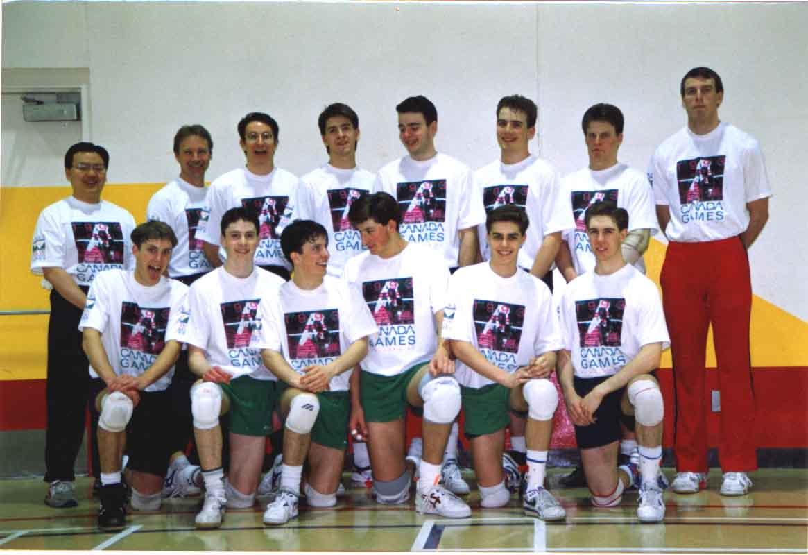 1993 Jeux Canada Games SK V'Ball, 5th place