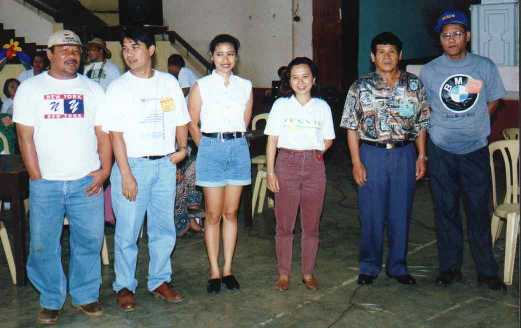 Picture taken during the alumni homecoming - December '98
