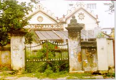 The Mangaram family residence, at the top of Mosque Road
