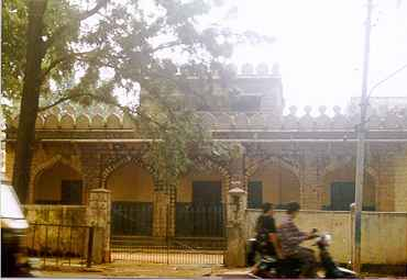 Muslim Boy's school on Mosque road