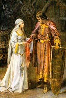 The lady of shalott story