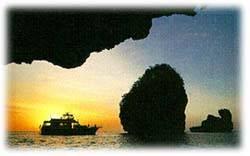 รูป พระอาทิตย์ตก ที่เกาะ