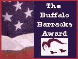 Buffalo Barracks Award