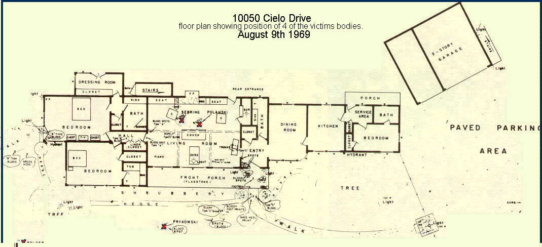 beautiful 10050 cielo drive floor plan contemporary
