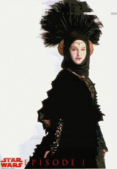 natalie portman queen amidala costume. Way cool pic of Queen Amidala
