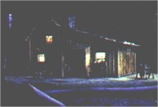 Little House at night