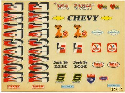 funny car stickers. Nova funny car decals