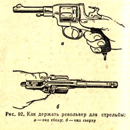 Manual depicting holding techniques
