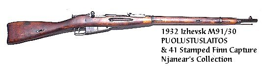 1932 M91/30 Russian captured by Finns