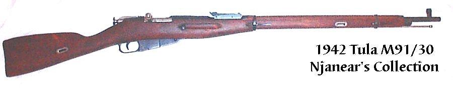 1942 Tula M91/30
