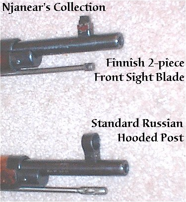 Front sight comparison
