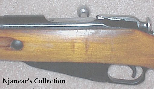 'High Wall' M91/30 Receiver