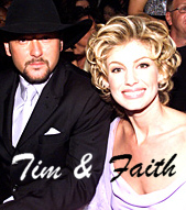 Tim and Faith at the Grammys