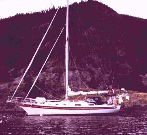 Peter Watkins' Bayfield 36 in 1996