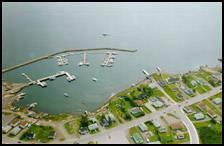 Lewisporte marina complex in 1998
