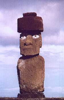 Moai at Ahu Tahai