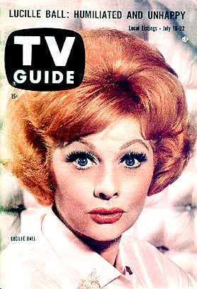 Lucy on TV Guide's Cover: July 16, 1960
