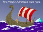 The Nordic-American Web Ring (logo)
