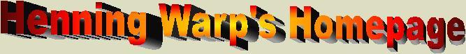 Henning Warp's Homepage