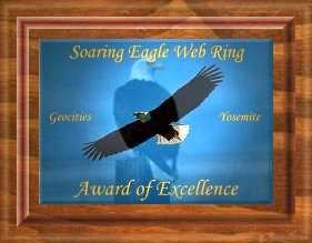 Yosemite Soaring Eagle Award {WebRing}