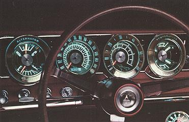 electroluminescent dash lighting early 1966 dodge charger